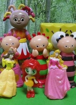 花园宝宝海绵宝宝迪士尼玩具