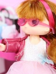 迪士尼公主系列玩具 定格动画