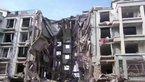 内蒙古包头居民楼燃气爆炸 一单元楼塌陷