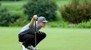 中国高尔夫巡回赛北京站美国选手马克第二轮单独领先