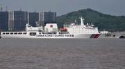 中国海警舰船编队7月18日在钓鱼岛领海内巡航