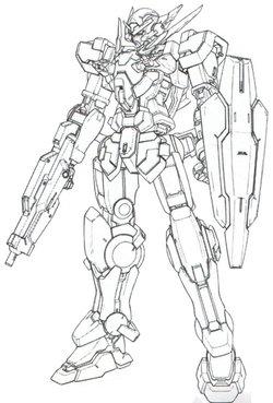 GNY-001FB黑色正义女神高达F型