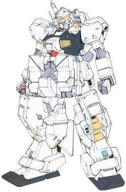 RX-121-1高达TR-1·海兹尔改副臂组件装备型