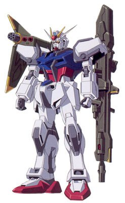 GAT-X105+AQM-E-X03炮战型强袭高达