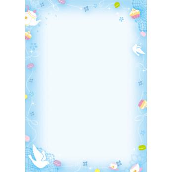 a4纸小清新花边边框《a4纸手绘花边边框《剪花边纸图