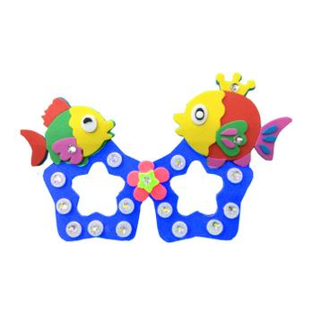 jd多多鹿儿童手工eav贴画diy制作益智玩具