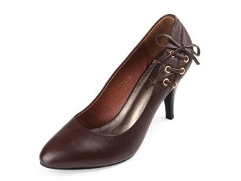 红蜻蜓 棕色 女 单鞋 wdb15102