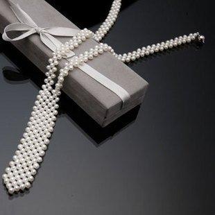 珍珠领带_