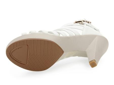 女凉鞋 白色 tn114c