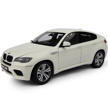 宝马 x6m车模/白色