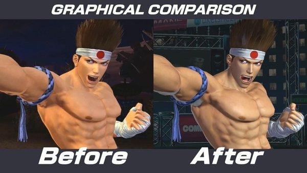 《拳皇14》画质对比宣传片公布6.jpg