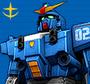 高达OL蓝色命运2号机(地球联邦军式样)(国)
