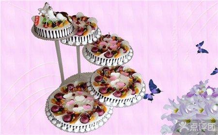 卡萨蛋糕24磅五层欧式水果架子蛋糕