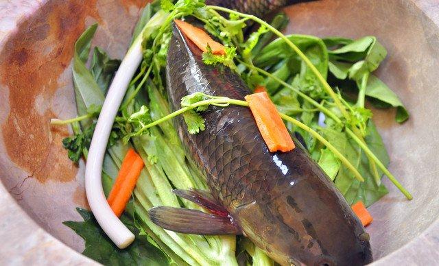 黑鱼石锅鱼蒸汽美味4人餐,美味不停歇美食街高淳图片