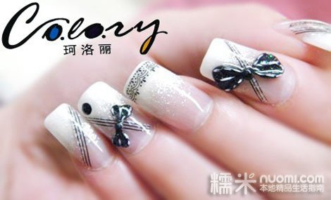 俏皮可爱的指甲彩绘