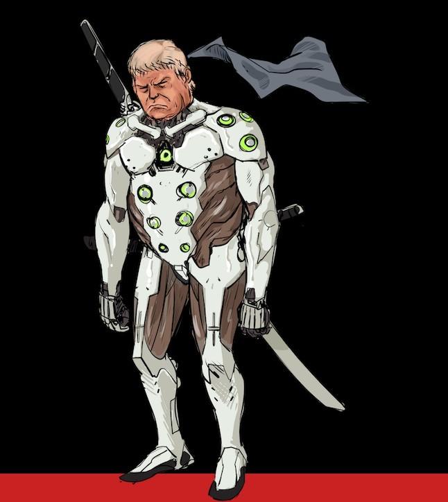 美国网站恶搞特朗普玩《守望先锋》