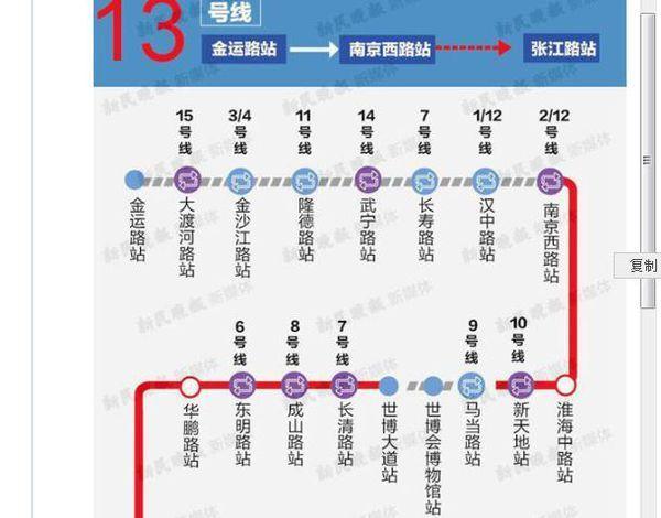 1号地铁换乘2号线地铁_上海地铁13号线换乘站_地铁8线换乘4号线