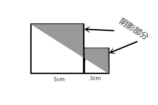 求下面部分中阴影面积的图形_360v部分好段小学生图片