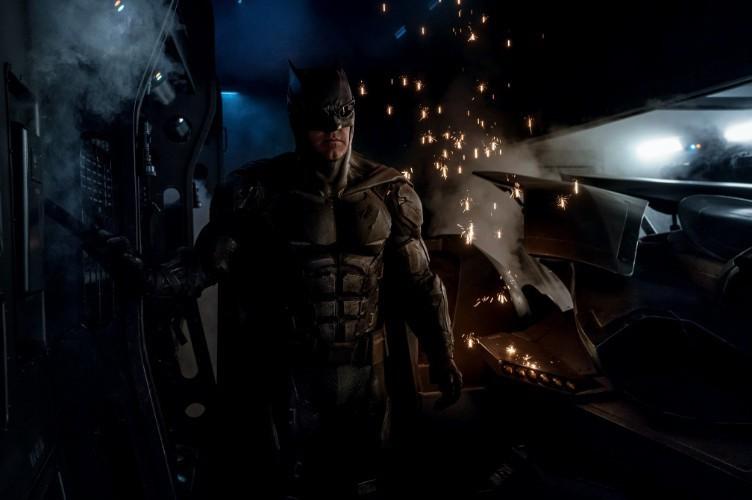 《正义联盟》中的蝙蝠侠形象