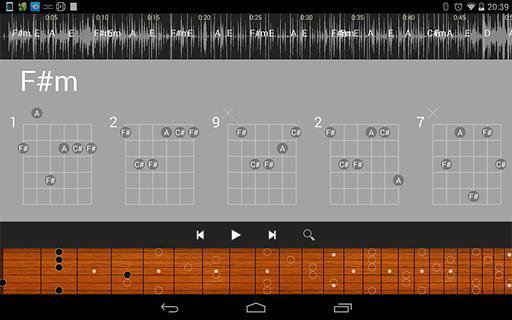 """MP3和弦""1吉他的分离版本可以只读取手机里MP3给出预测和弦.准确率在70%左右.暂时人类的数学只能做到这么高的预测.因为每个独立声音都会产生谐波.谐波又会产生谐波...对于快速扒吉他谱.已经妥妥的足够了..从现在开始.扒谱无压力 1吉他MP3和弦1.0安卓版2.1MB不论来自于1吉他MP3和弦官方提交还是网友提交版权均归官方所有MDPDA手机网仅为传播推广媒介不为APP内容负责。"