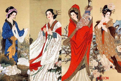 中国古代十大美女 鸣蝉识谱