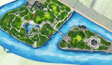 朝阳公园设计平面图