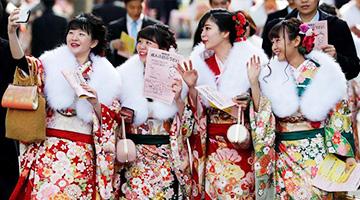 日本少女成人礼现场令世人惊讶