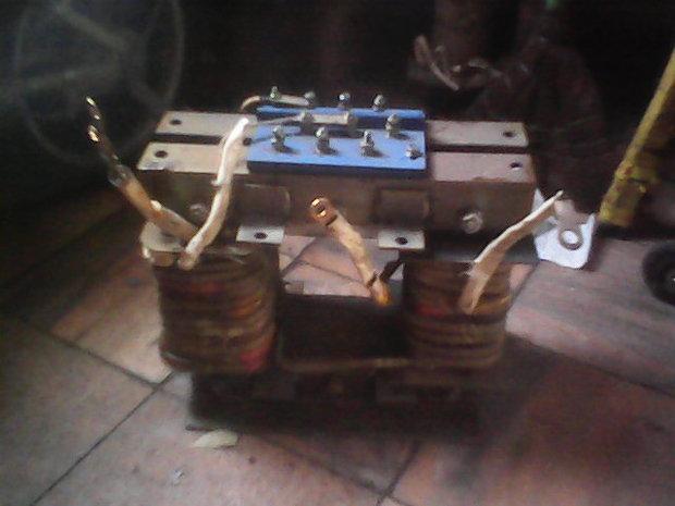 求自制电焊机求,有8个闲置的环形变压器