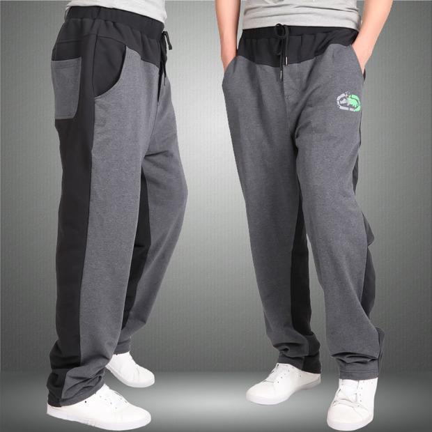 休闲裤,宽松九分裤