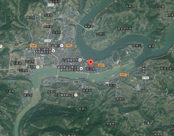 四川省宣汉谷歌卫星地图_360问答