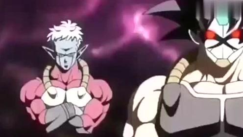 龙珠超神秘的超级赛亚人摘下面具后,让所有人害怕!