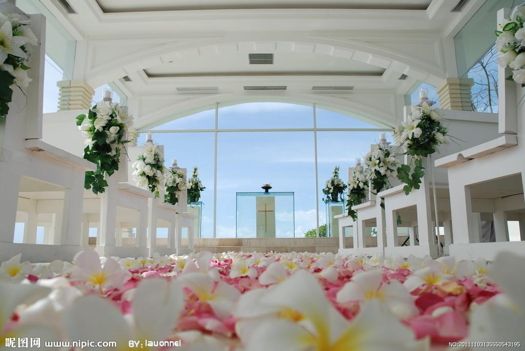 婚礼会场布置欧式风格小清新浪漫风