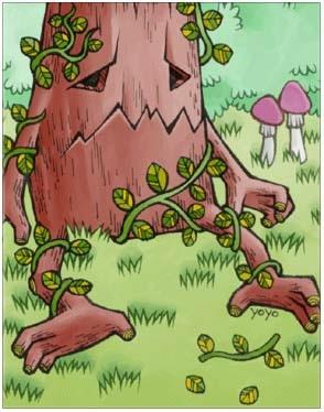 长老树精卡片