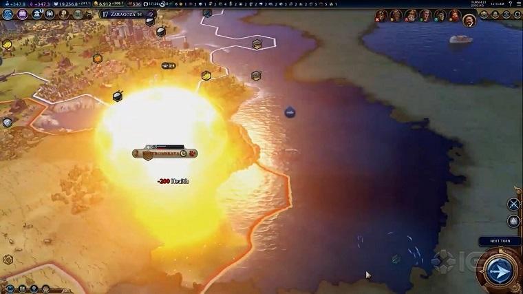 文明6核弹演示