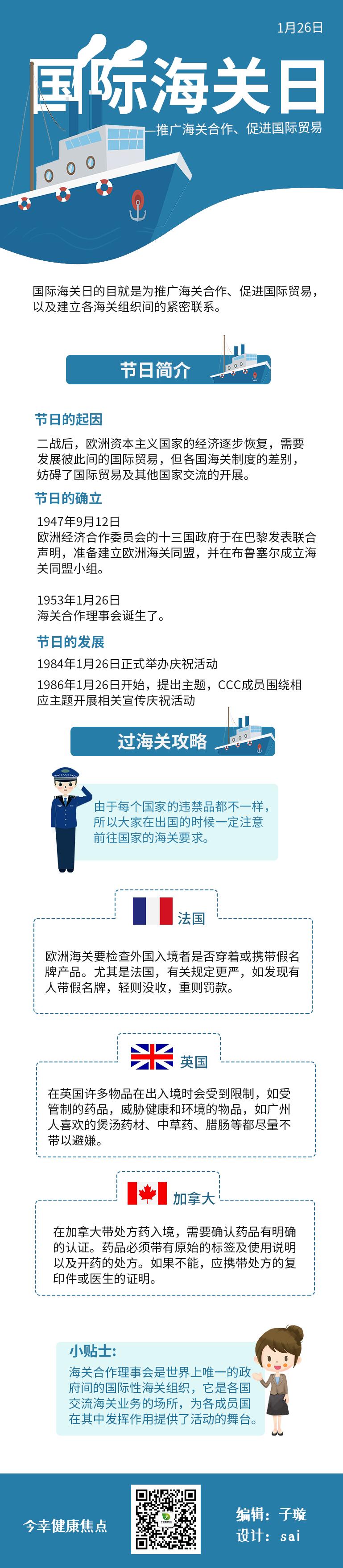 国际海关日——推广海关合作、促进国际贸易