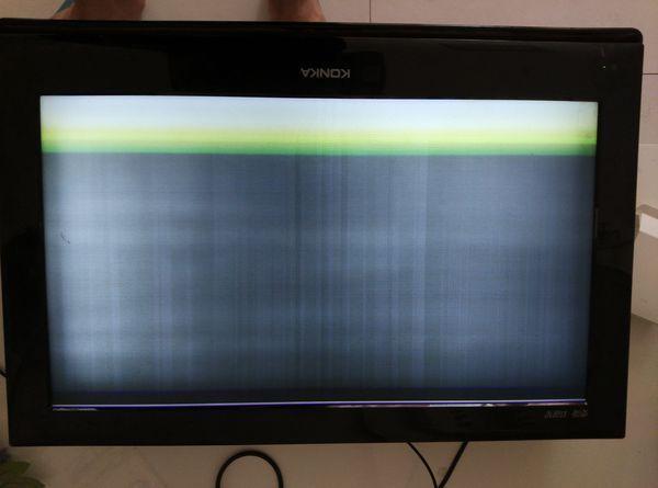 液晶电视机出现故障.求高人指点一下.怎么修是