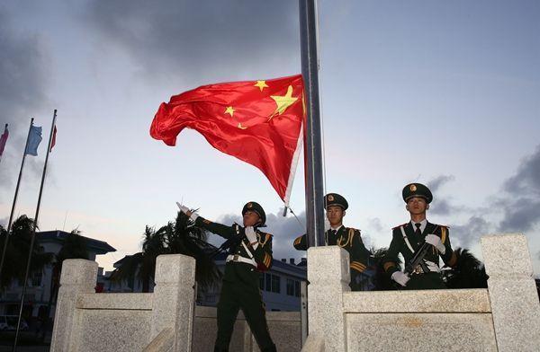 南海升起五星红旗 - xzq888huz,一兵 - xzq888huz的博客