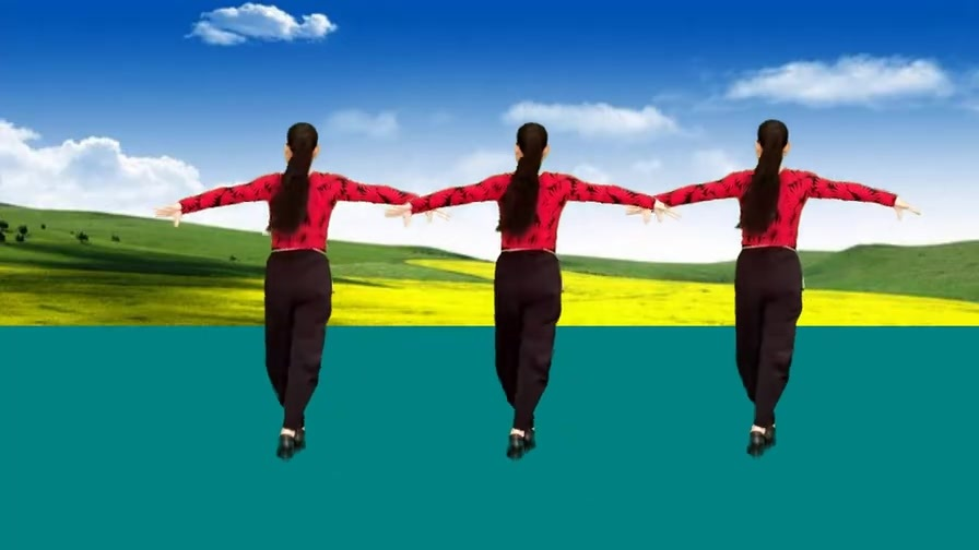 天籁之音广场舞《爱江山更爱美人》降央卓玛演唱