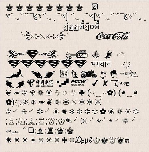qq签名符号_qq昵称符号图案图片