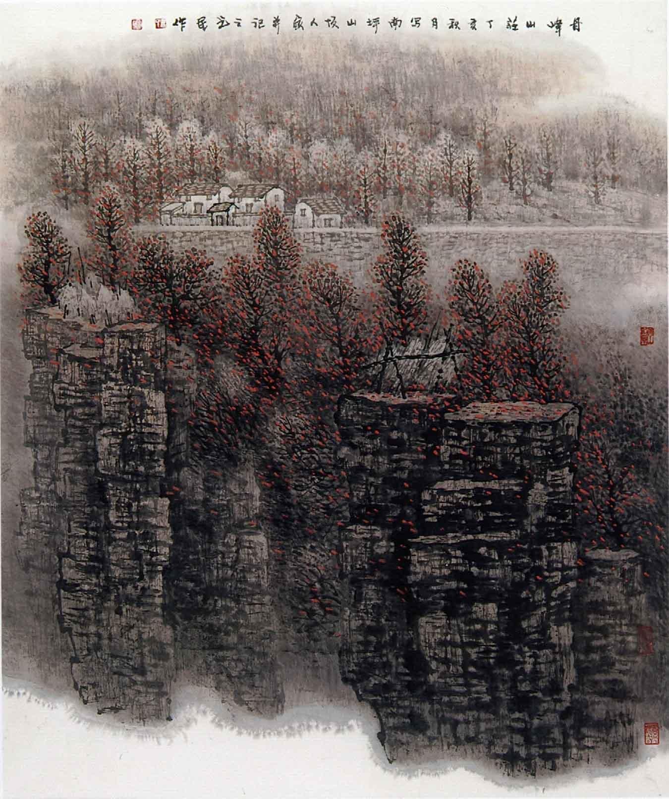 出版有《刘书民山水画集》,合作出版《红旗渠画集 》,《大别山写生集