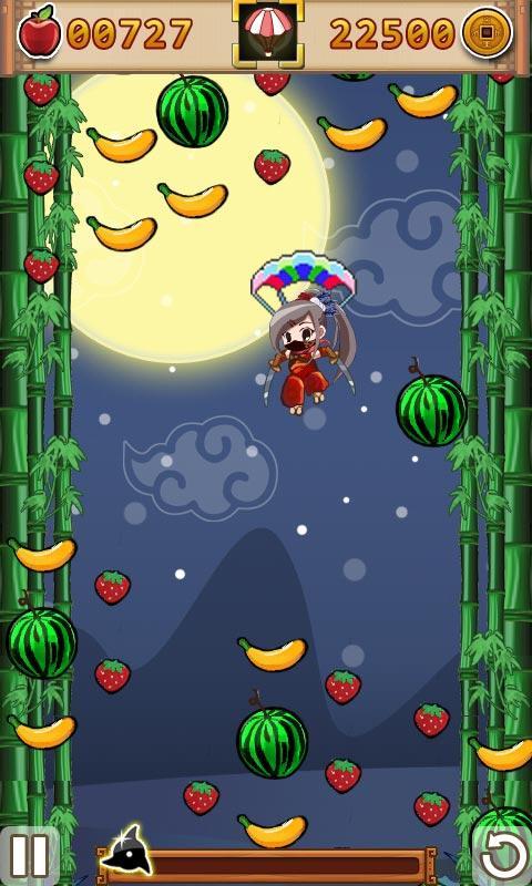 满屏壁纸可爱水果