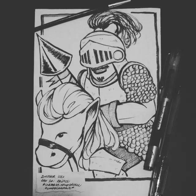 手绘黑白皇室世界3.jpg