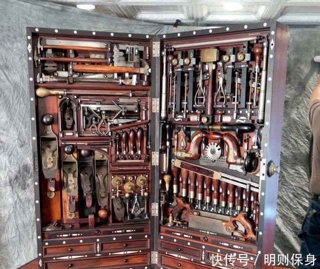 史上最牛木工工具箱,没有之一,绝对是全球最强