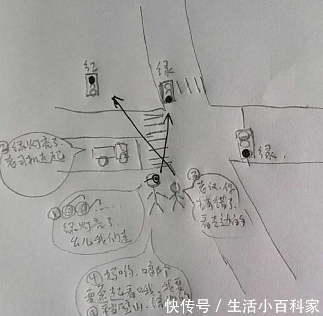 全集手绘漫画反映红绿灯设置bug重庆交巡警半美女a全集和鬼网友漫画图片