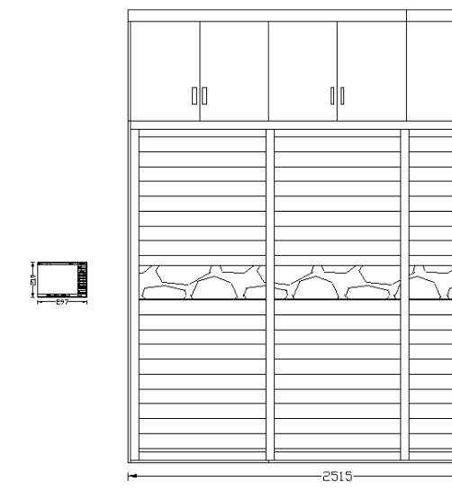 CAD出图中按画法打印布局cad孔比例中的螺纹图片