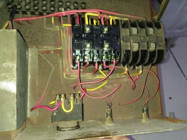 接触器cdc20接线图