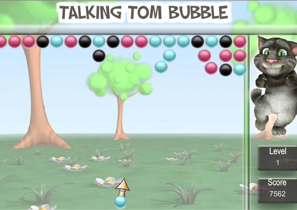 会说话的汤姆猫泡泡龙