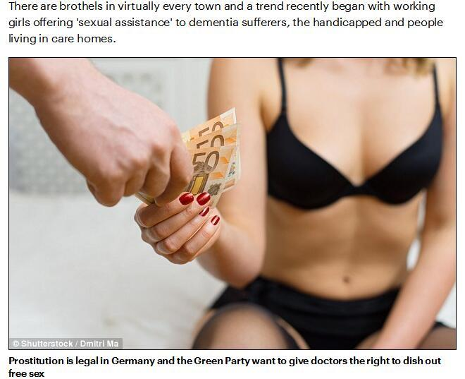British media: the German Green Party for the poor to pay the cost of patient prostitution free prostitute - Beijing time