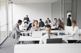 办公室座位背对门口_总经理办公室的风水摆设爱福窝装修知识