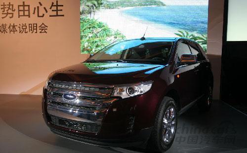福特edge锐界欲上市 车型配置详细解读高清图片